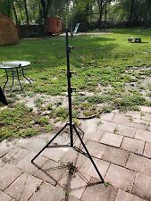 Avenger Maxi Kit 12.7' Lightstand, Four Riser  Black Aluminum #A635B