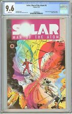 Solar Man of the Atom #4 CGC 9.6 White Pages (1991) 2097903013