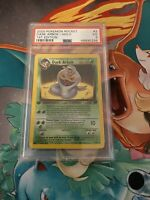 2000 Pokemon Team Rocket 1st Edition Dark Arbok Holo 2/82 PSA 3 Very Good POP 1