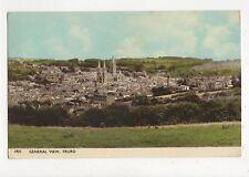 General View Truro 1960 Postcard 355a
