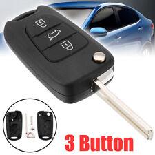 3 Button Flip Remote Key Fob fit For Kia Ceed Picanto Sportage Hyundai i20 i30