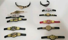 Lot Of 12 WWE Mattel Jakks OSFT Championship Belts