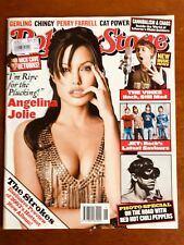 ROLLING STONE MAGAZINE AUS OCT 2003 ANGELINA JOLIE STROKES RED HOT CHILI PEPPERS