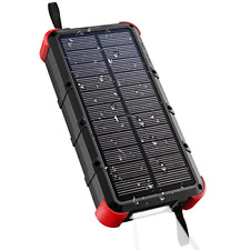 OUTXE Quick Charge Solar Charger 20000mAh Solar Power Bank Waterproof, Dual Type