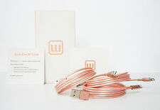 2-Pack Rose Gold iPhone Cable Lightning USB Cable Apple iPhone X iPhone 8 7 6 5