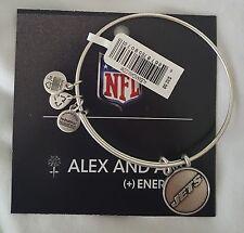 Alex and Ani NFL NY JETS New York wire Bracelet bangle NEW NWT Football