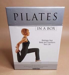Pilates in a Box: Reshape Your Body and Transform Your Life by Lesley Ackland