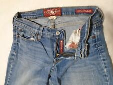 Lucky brand women jean size 4 / 27 ankle sofia straight.