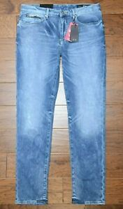 Armani Exchange A|X J22 Men's Tapered Fit Stretch Soft Touch Cotton Jeans 30R