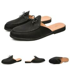 Men Slingbacks Loafers Faux Leather Slippers Shoes Oxfords Slip on Party 38-44 L