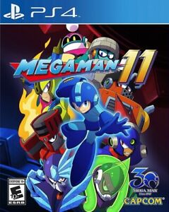 Mega Man 11 PS4 Great Condition Complete Fast Shipping