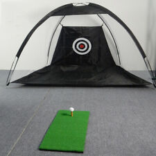 US Golf Net Training Aid Hitting Practice Lawn Driving Range Cage Tent Sport