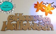 Wooden, MDF, Happy Halloween Sign, Indoor or Outdoor Decoration, Halloween!!!!
