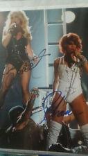 Britney Spears & Rihanna signiert signed Foto Autograph COA