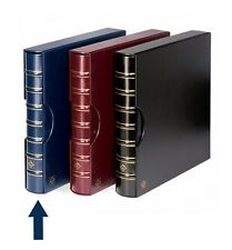 Lighthouse Maximum Extra Wide Binder and Slipcase For Stamps & Postcards Blue