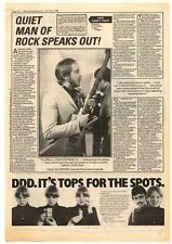 Who The John Entwistle Interview NME Cutting 1981