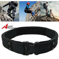 """2"""" Tactical Military Police SWAT Nylon Duty Belt Security Utility Belt for Pants"""