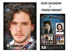 KIT HARRINGTON CALENDAR 2020 BY DREAM + KIT HARRINGTON FRIDGE MAGNET
