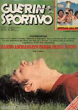 RIVISTA=GUERIN SPORTIVO=N°21 1980=COPPA COPPE=NOTTINGHAM FOREST-AMBURGO