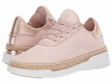 Michael Michael Kors Womens Finch Lace up Fabric Low Top, Soft Pink, Size 5.5 Sl