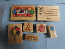 Stampin Up Party Variety Stamp Collection