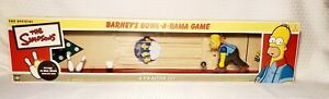 THE SIMPSONS BARNEYS BOWL-A-RAMA GAME - A TIN ACTION TOY COLECTIBLE BOWLING GAME
