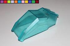 Lego Duplo - Toolo - Dach Kabine Führerhaus Fahrzeug - blau transparent