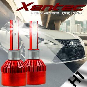 2x H1 LED Headlight Kit 6000K White 388W 38800LM High/Low Beam Fog Light Bulbs