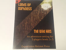 Dungeons & Dragons 4E Compatible LANDS OF DARKNESS: The Wild Hills 29223