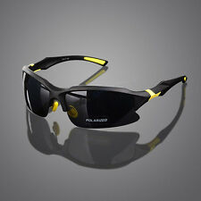 Mens Polarized Sunglasses Driving Fishing Outdoor Sports Eyewear Cycling Goggles