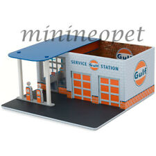 GREENLIGHT 57012 MECHANIC'S CORNER SERIES 1 VINTAGE GAS STATION GULF OIL 1/64