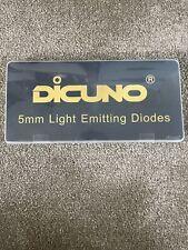Dicuno 100pcs 5mm 12v Prewired LED Light Emitting Diode. Assorted Colour