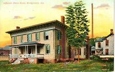 1909 The Jefferson Davis Home in Montgomery, AL Alabama PC