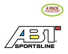 ABT Sticker Vinyl Decal 4 Pack