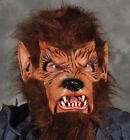 Wolfman Werewolf Brown Wolf  Zagone Studios Moving Mouth Adult Halloween Mask