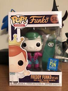 Funko Pop! Freddy Funko Surf's Up! The Joker Box of Fun 3000 Pcs Exc W/Protector