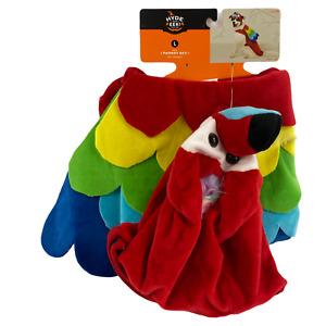 Parrot Costume Large Dog Pet Set Vest Headpiece Hyde Eek Boutique Halloween New