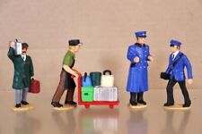 More details for lgb g scale station staff porters compatible with aristocraft bachmann 2nx