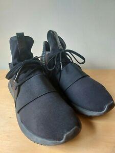 Adidas Wmns Tubular  Defiant Black  Lace Up Running Trainers Shoes  SIZE UK 7/41