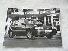 N0003) Nissan Sunny 1,4 LX - Presse Foto Werkfoto press photo 05.1991