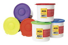 Scsp-088684-School Smart Non-Toxic Modeling Dough Classroom Pack, 3.3 lb Tub, A