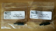 New Dc In-Line Jack 2.1 X 5.5 27-5997 (qty: 2)