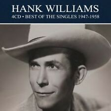 Hank Williams Best of the Singles 1947-1958 Remastered 4 CD DIGIPAK NEW