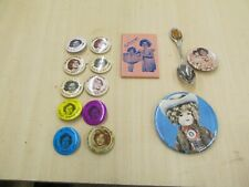 Vintage Lot of Shirley Temple Doll Lapel Pins and Other Items