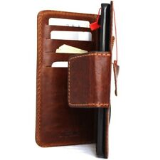 genuine vintage leather case fo LG V10 book wallet magnet cover slim cards new R