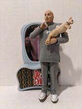 Austin Powers Dr. Evil with Cat Figure