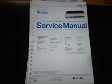 Original Service Manual Philips  22AH105