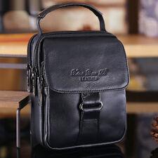 Genuine Leather Small Shoulder Bag Handbag Business Hip Bum Men Fanny Waist Pack