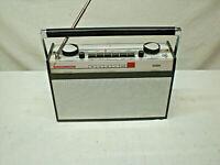 SABA Trans Europa I Automatik Transistorradio Rar+Schön Koffer-Radio 1963 Traum