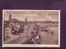 Sammeln & Seltenes europa:11403 Gelaufene Ansichtskarte Köln Rheinpanorama. Ansichtskarten